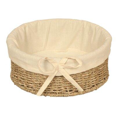 Wicker Valley Round Lined Basket