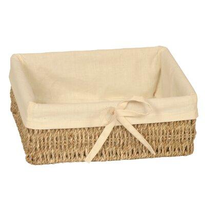 Wicker Valley Rectangular Lined Basket
