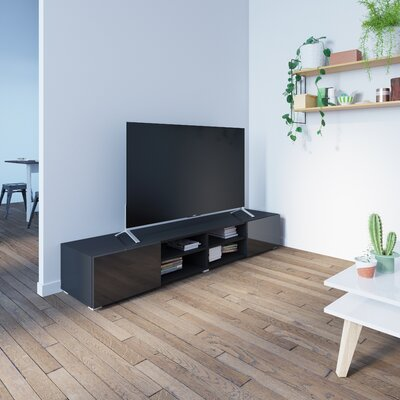 """Fairley 73"""" TV Stand Color: Black"""