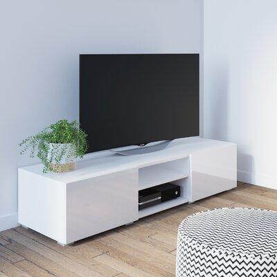 "Fairley 55"" TV Stand Color: White"