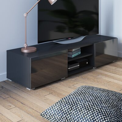 """Fairley 55"""" TV Stand Color: Black"""