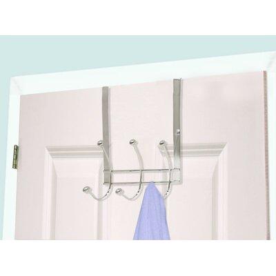 3 Hook Over the Door Coat Rack (Set of 2)