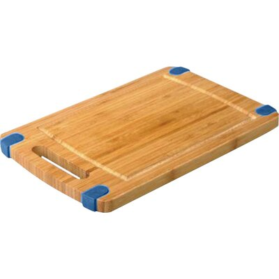 "Non-Skid Cutting Board (Set of 2) Size: 8"" H x 12"" W, Color: Blue"