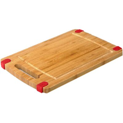 "Non-Skid Cutting Board (Set of 2) Size: 12"" H x 16"" W, Color: Red"