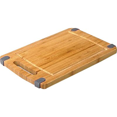 "Non-Skid Cutting Board (Set of 2) Size: 8"" H x 12"" W, Color: Gray"