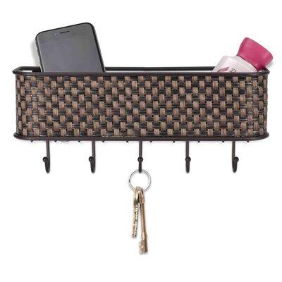 Basket Weave Letter Rack (Set of 2)