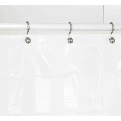 Shower Curtain Color: White
