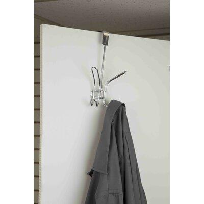 Double Hook Wall Mounted Coat Rack (Set of 4)