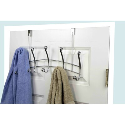 5 Hook Arch Wall Mounted Coat Rack