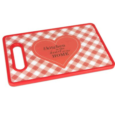"Sayings Plastic Cutting Board (Set of 2) Size: 11"" x 8""W"