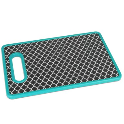 Plastic Geometric Cutting Board (Set of 2)