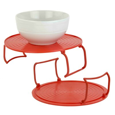 3-in-1- Multi-functional Plastic Microwave Tray (Set of 2)