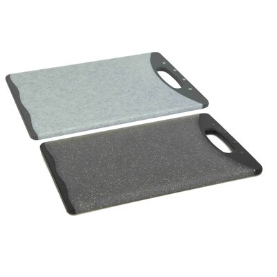 Plastic Cutting Board (Set of 2) Size: 14.5'' H x 10'' W x 0.5'' D