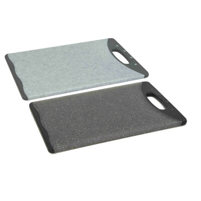 Plastic Cutting Board (Set of 2) Size: 11.5'' H x 8'' W x 0.5'' D