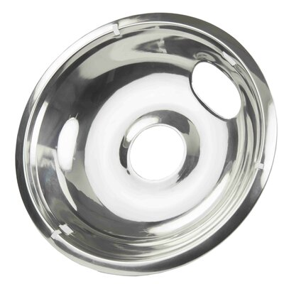 "8"" Stainless Steel Drip Pan (Set of 2)"