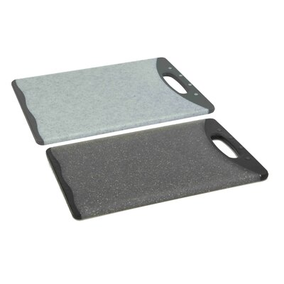 Plastic Cutting Board (Set of 2) Size: 17.5'' H x 12'' W x 0.5'' D