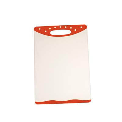 "Cutting Board (Set of 2) Size: 8"" H x 11.5"" W, Color: Red"