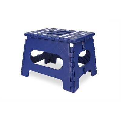 Medium Folding Stool Color: Blue
