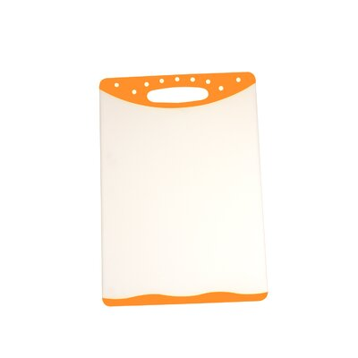 "Cutting Board (Set of 2) Size: 8"" H x 11.5"" W, Color: Orange"