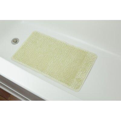 Rubber Grass Bath Mat Color: Biege