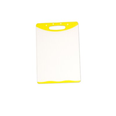 "Cutting Board (Set of 2) Size: 8"" H x 11.5"" W, Color: Yellow"