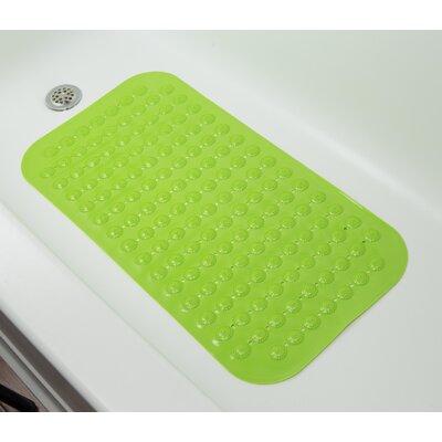 Rubber Bath Mat (Set of 2) Color: Green
