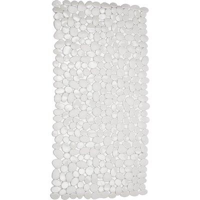 Rubber Stone Bath Mat (Set of 2) Color: White