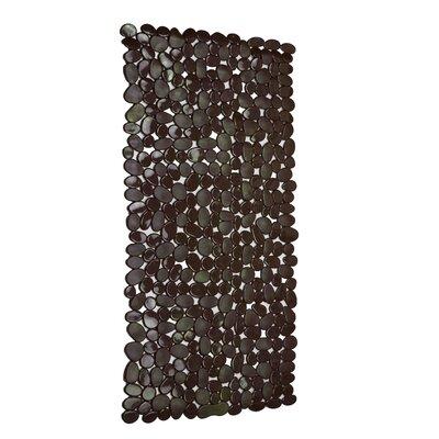 Rubber Stone Bath Mat (Set of 2) Color: Brown