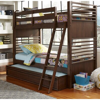 Schuster Complete Bunk Bed with Trundle