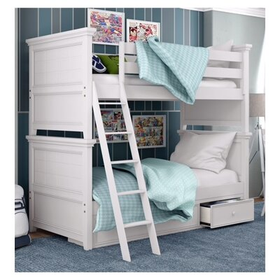 Inwood Complete Bunk Bed Finish: Bright White, Size: Twin