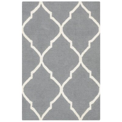 Bakero Caroline Hand-Woven Grey Area Rug