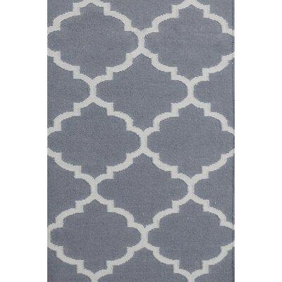 Bakero Elizabeth Hand-Woven Grey Area Rug