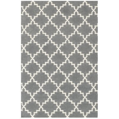 Bakero Eugenie Hand-Woven Grey Area Rug