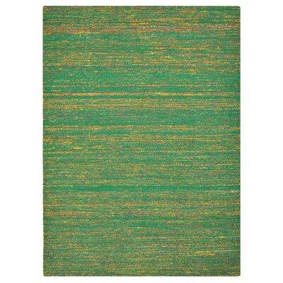 Bakero Sari Hand-Woven Green Area Rug