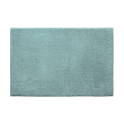 "Kiesel Plush Memory Foam Chenille Cushioned Bath Mat Color: Aqua, Size: 20"" x 30"""