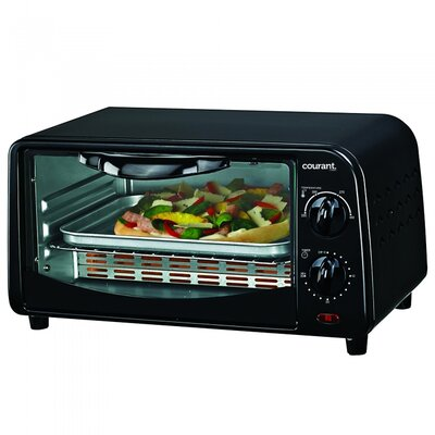 Countertop Toaster Oven Color: Black