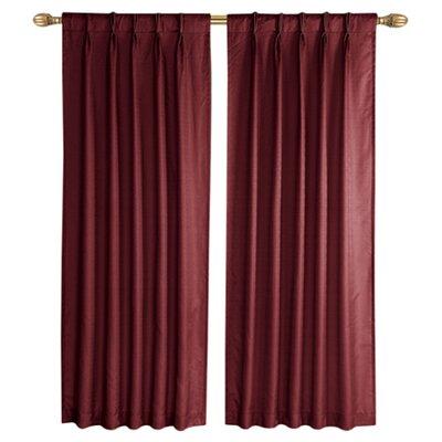 Three Posts Sheldon Pinch Pleat Single Curtain Panel