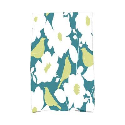 Modfloral Hand Towel Color: Teal