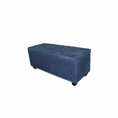 Gridley Upholstered Storage Bench