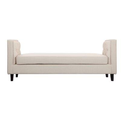 Isolde Upholstered Bench Upholstery: Beige