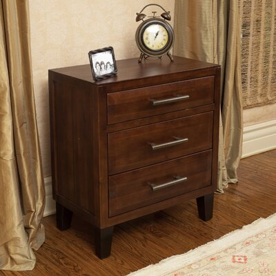 Davisson 3 Drawer Accent Chest