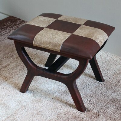 Youngston Stool with Wood Leg Color: Mix