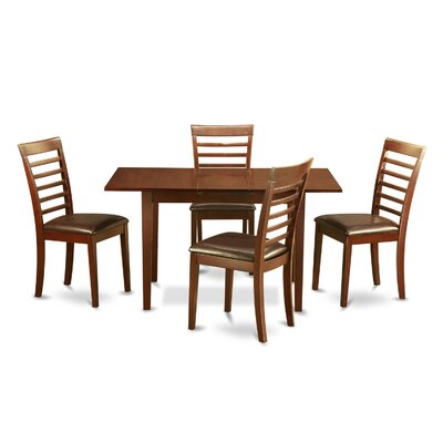 Phoenixville 5 Piece Extendable Dining Set