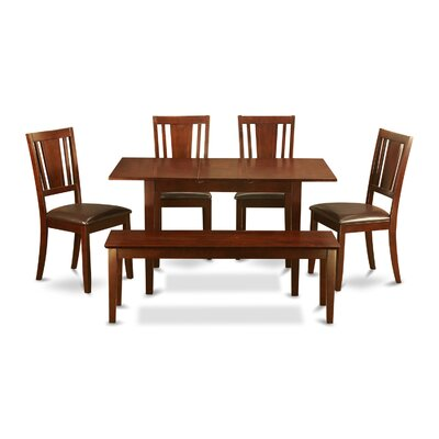 Phoenixville 6 Piece Extendable Dining Set