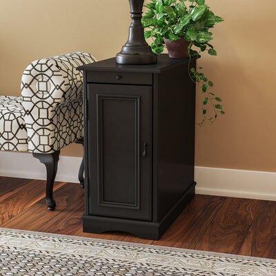 Johnsburg Accent Cabinet Color: Black