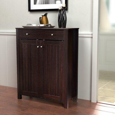 Crawfordsland 2 Door Storage Accent Cabinet Color: Cappuccino