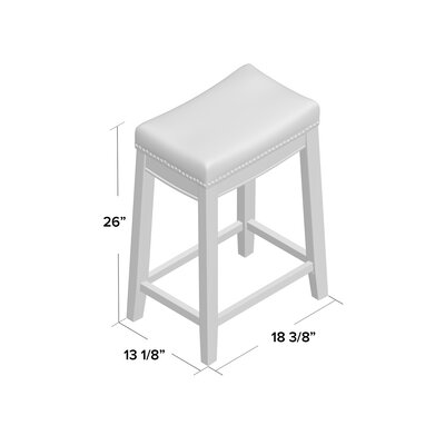 Bowhill Bar Stool Seat Height: 26