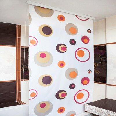 Beytug Textile Rings PEVA Stylish Waterproof Shower Curtain