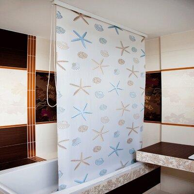 Beytug Textile Ocean PEVA Stylish Waterproof Shower Curtain