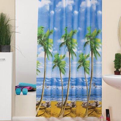 Beytug Textile Palms Shower Curtain
